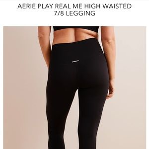 Aerie High waisted black leggings